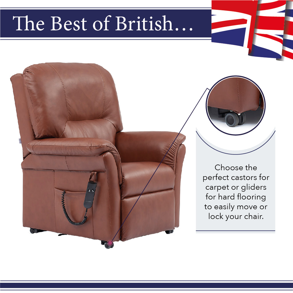 Get the perfect castors and gliders for your middletons rise and recline chair