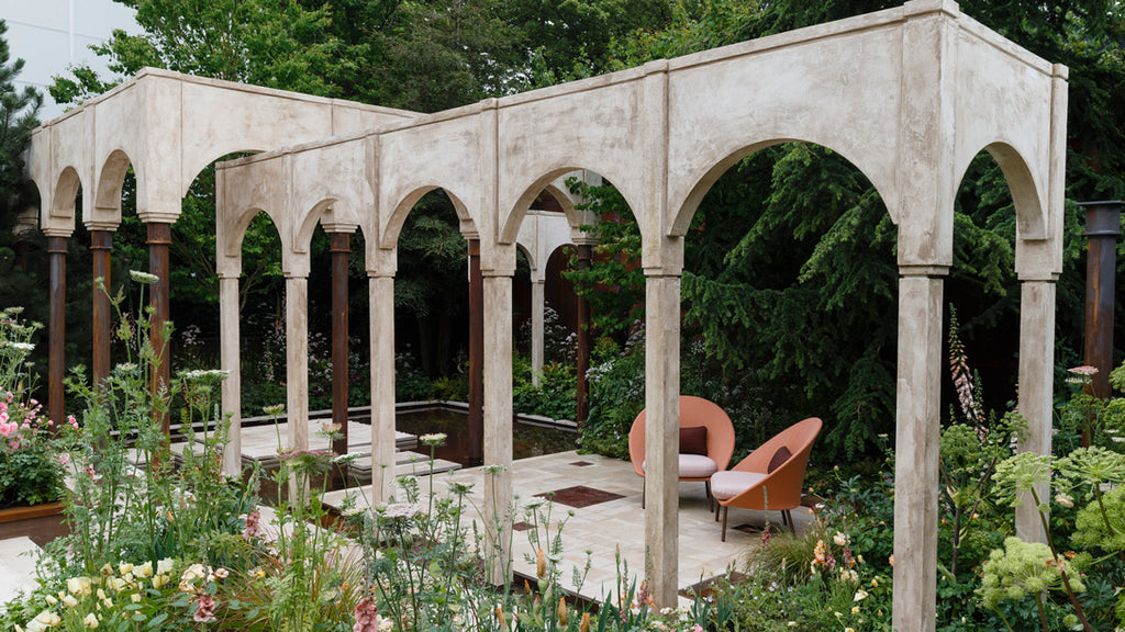 The Wedgwood Garden at the 2019 Chelsea Flower Show