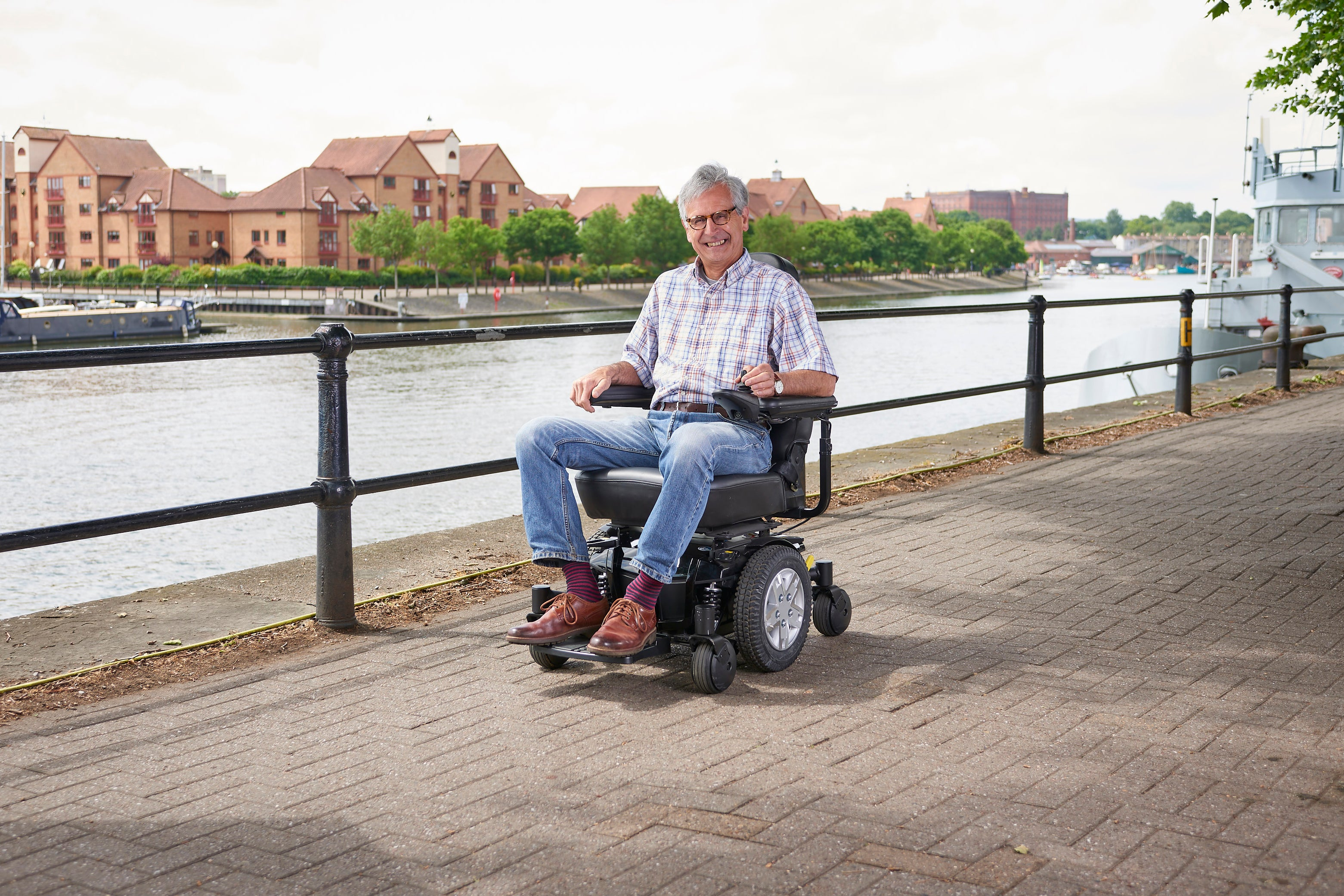 Image of a Middletons powerchair