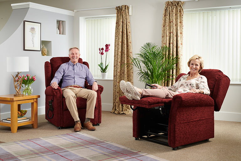 Middletons Balmoral rise and recline chair collection