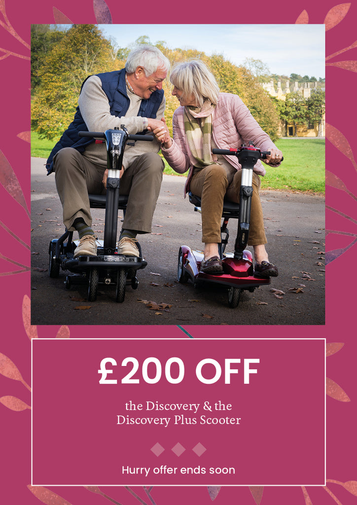 £200 off Mobility scooter at middletons exclusive autumn offers