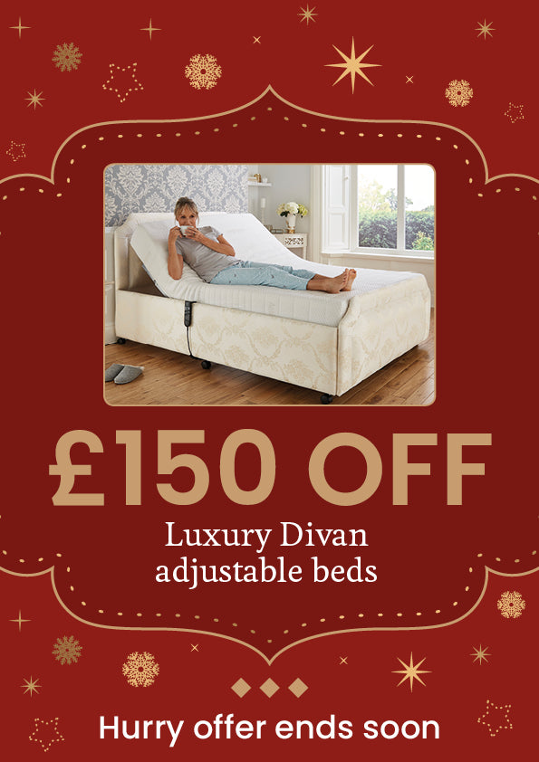 £150 off our luxury divan beds this christmas