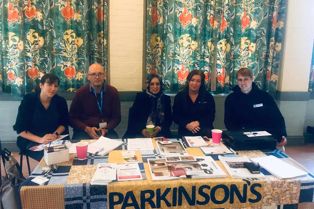 Middletons at the Parkinson's day in Nottingham