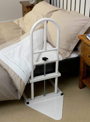Middletons grab rail by and adjustable bed