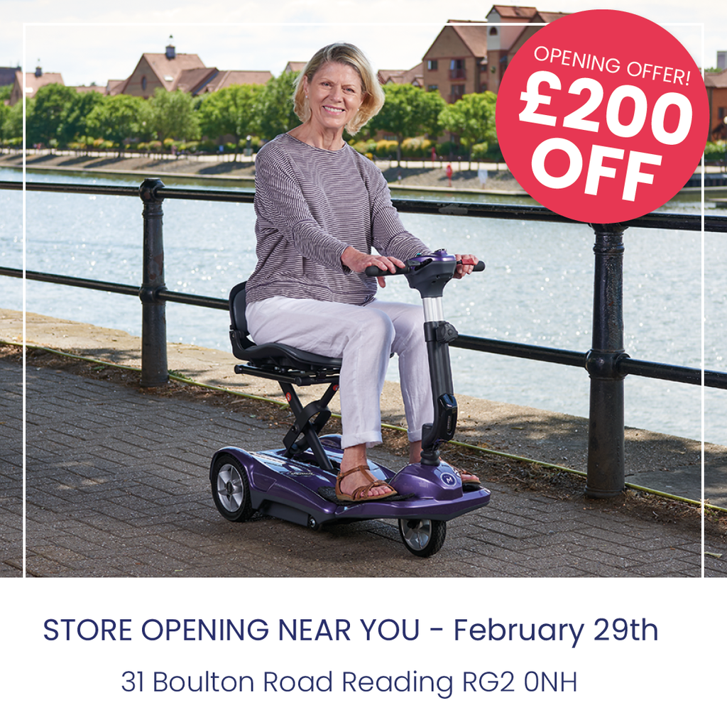 £200 off middletons discovery and frontier scooter in the reading opening store