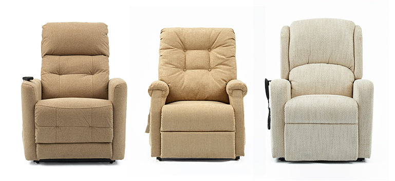 Middletons classic rise and recline chairs