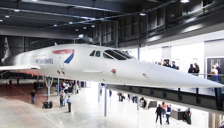 Concorde at the Bristol Aerospace Museum.
