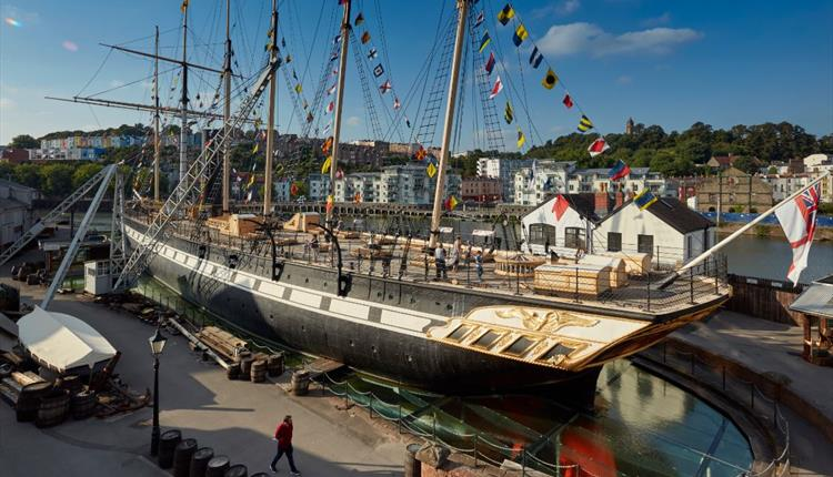 Brunel's SS Great Britain in Bristol