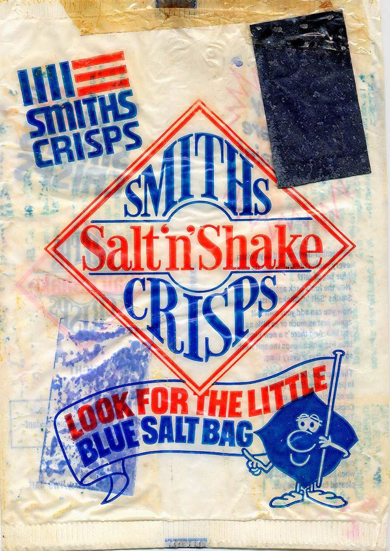 Salt and shake crisps can still be found in supermarkets today