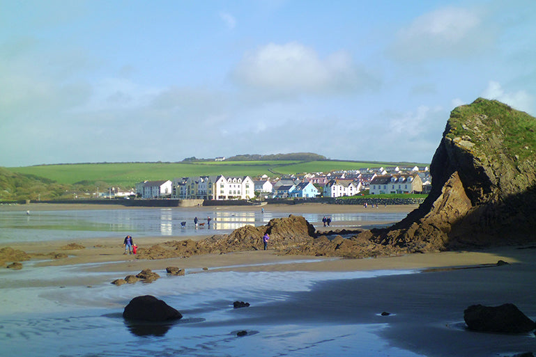 Image of view of Broad Haven bay
