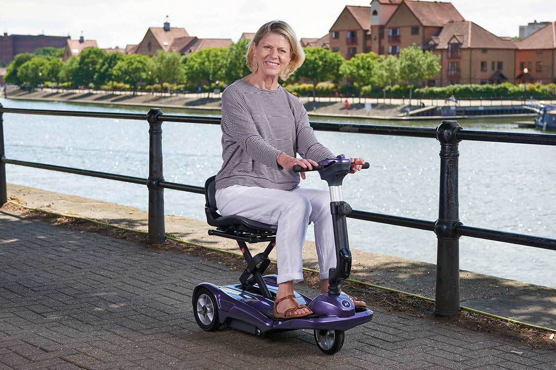 Middletons Discovery folding travel mobility scooter