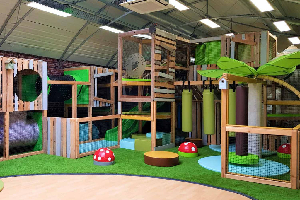 Yarnton Play Park soft play