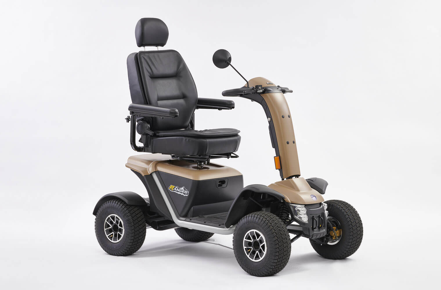 An image of Ranger 8mph Road Mobility Scooter from Middletons Grey