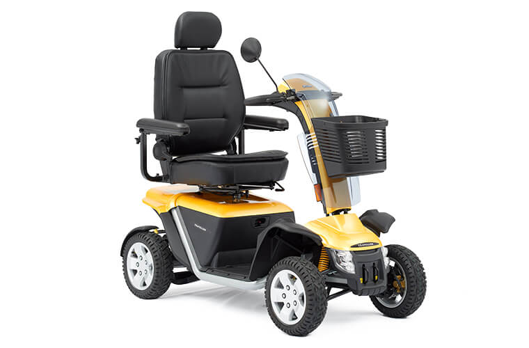 An image of Colt Executive 8mph Road Mobility Scooter With Double Suspension and Hydraulic B...