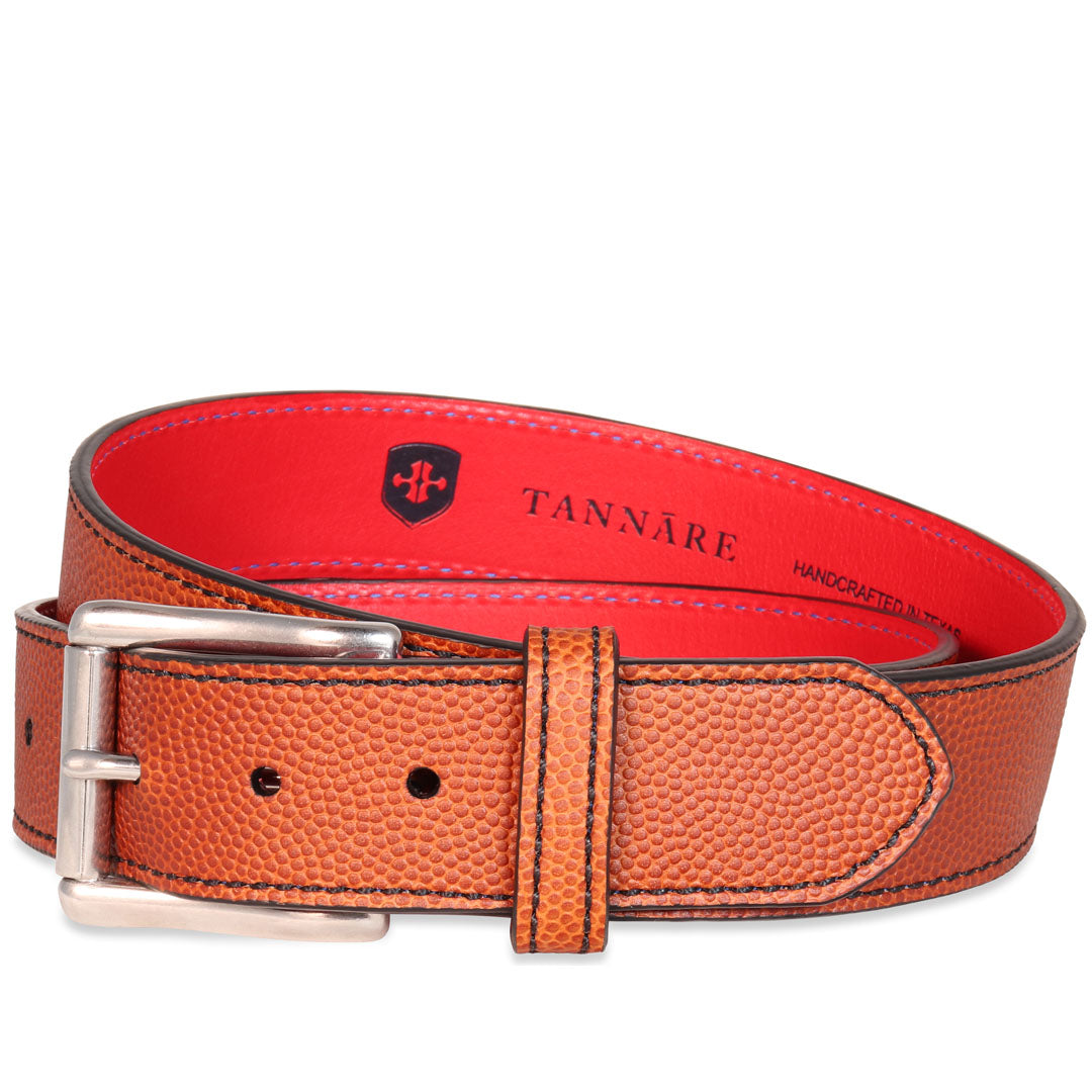 Football Leather Belt