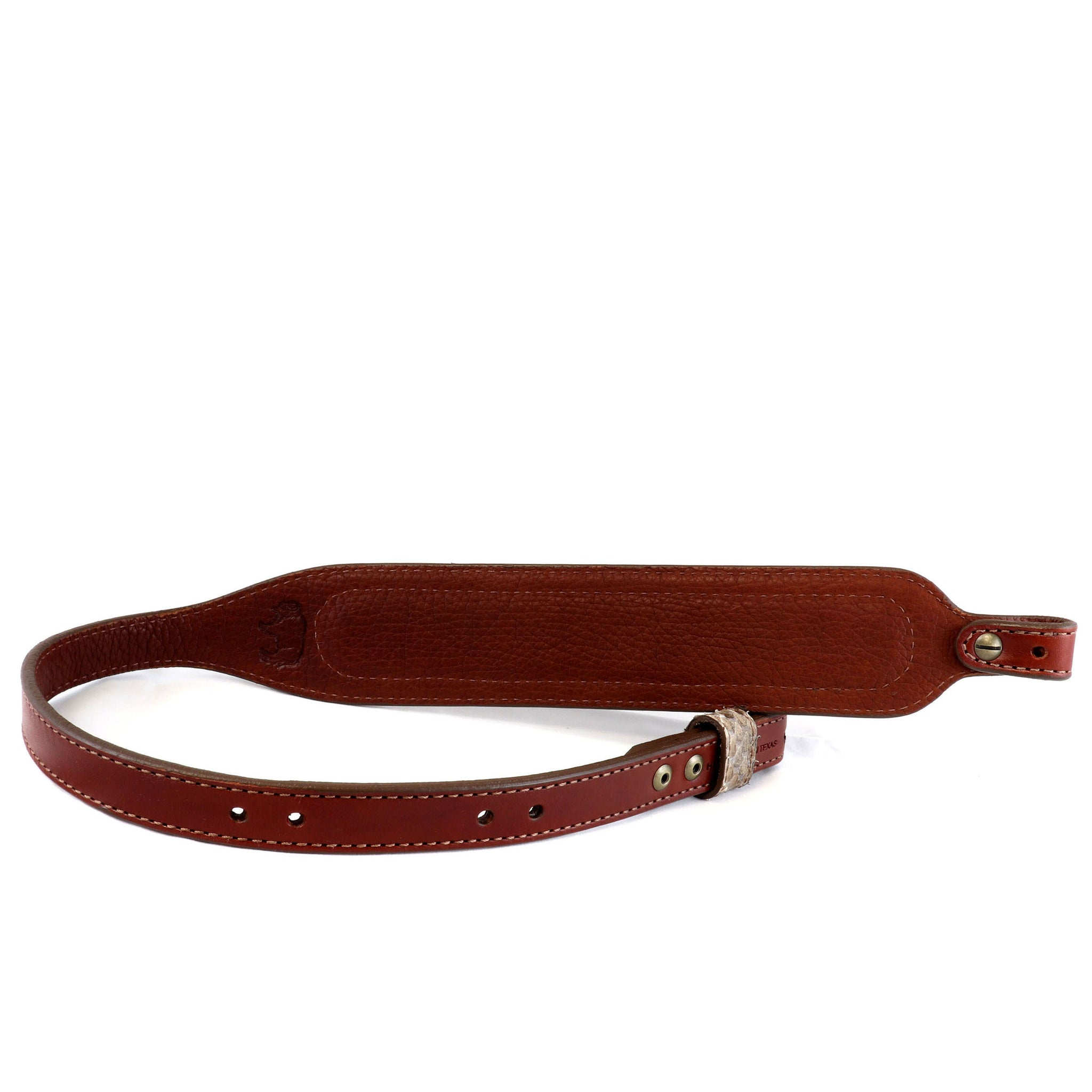 Rifle Sling with Genuine Rattlesnake In-lay