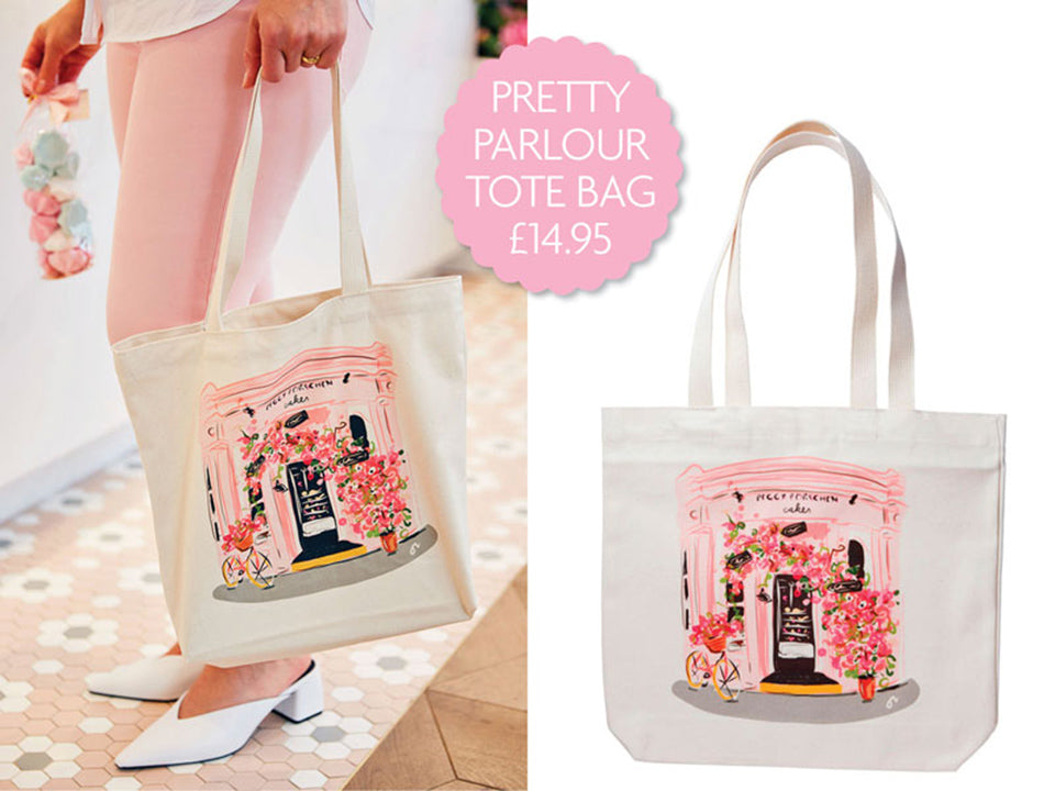 Brand new Pretty Parlour Tote Bag - Now available