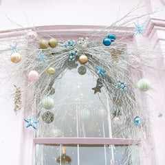 Crystal and Candy Christmas window