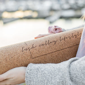 Lush Valley Lifestyle Cork Yoga Mat