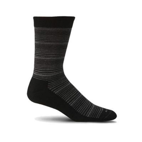 Sockwell Bandwidth Lifestyle Socks - Men (Black)