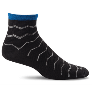Sockwell Plantar Ease Quarter Compression Socks - Men 20-30mmHg
