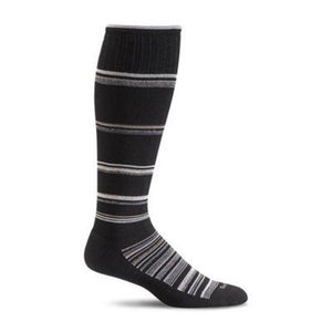 Sockwell Concentric Stripe Compression Sock - Men 15-20 mmHg