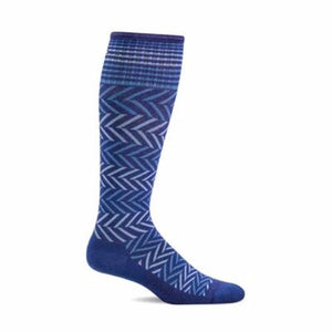 Sockwell Chevron Compression Sock - Women  15-20 mmHg