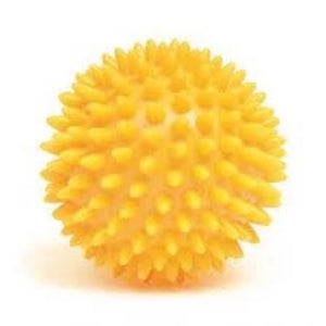 Yellow Spiky Ball (7cm)