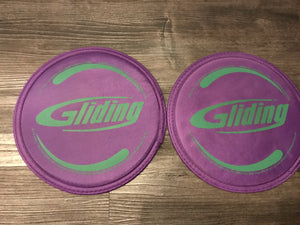 Gliding Discs Hardwood  w/DVD and Manual