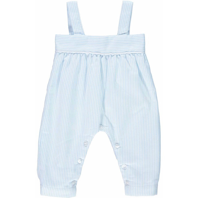 Baby Boy Blue Stripes Dungarees