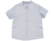 Indigo Boy Striped Shirt