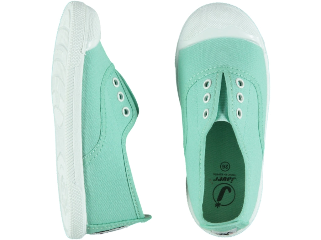 Elastic Menta Tennis Shoes