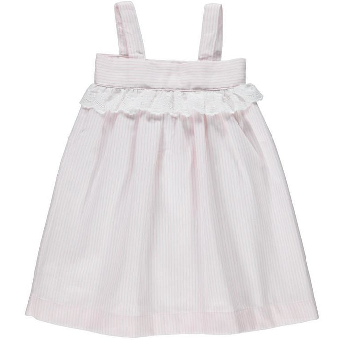 Baby Girl Pink Stripes Dress