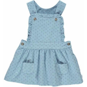 Rain Girl Dots Dungarees Skirt