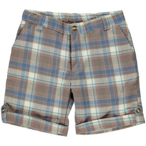 Cappuccino Boy Chess Shorts
