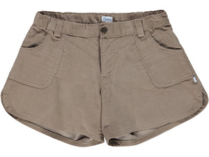 Corduroy Camel Girl Shorts