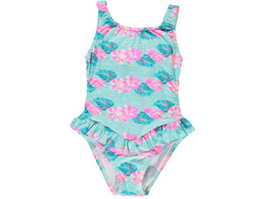 Tropical Trikini Swimsuit