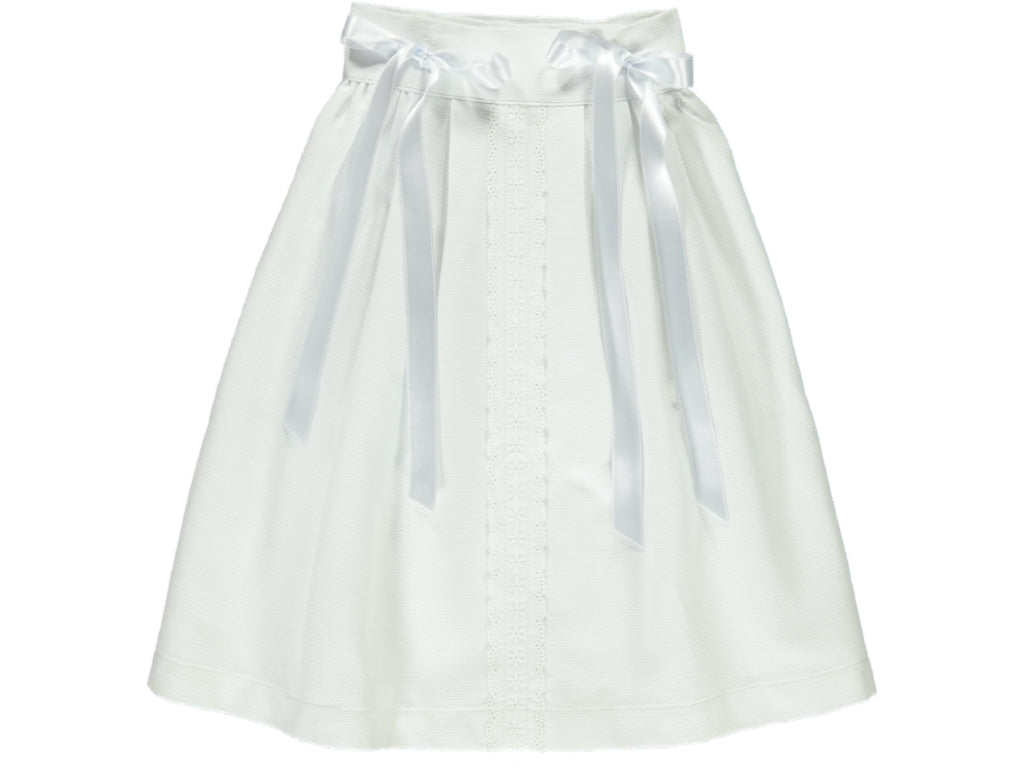 White Baby Long Dress