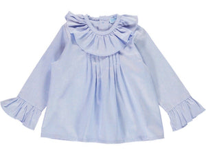Oxford Girl Blue Shirt