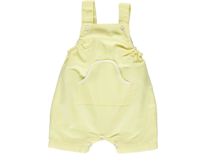 Yellow Baby Boy Romper