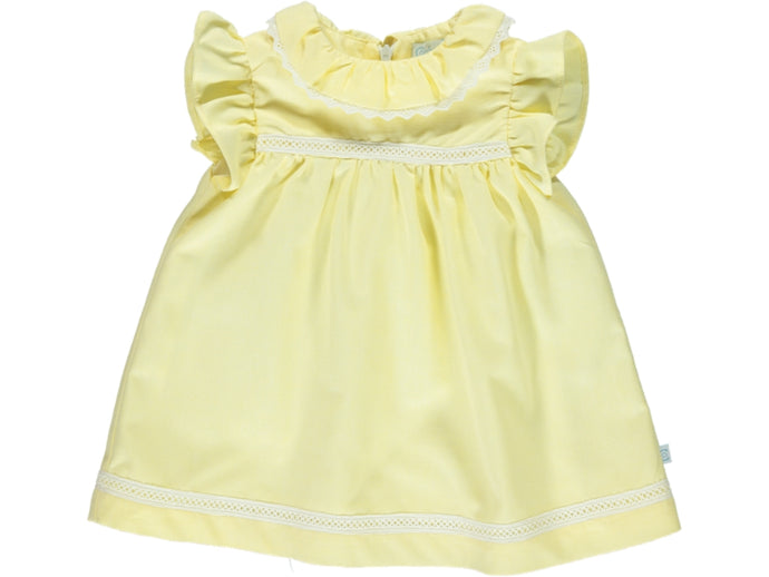 Yellow Baby Girl Dress