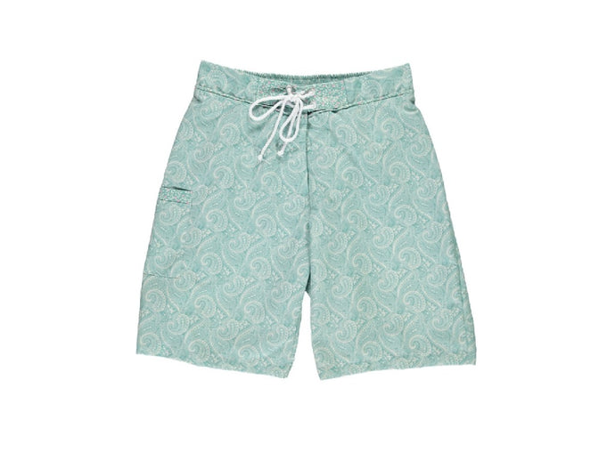 Caribbean Boy Green Swim Shorts