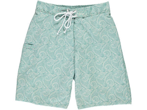 Caribbean Father Green Swim Shorts