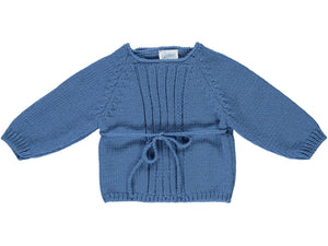 knitted Baby Blue Outfit