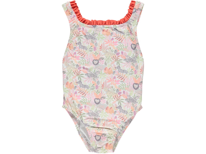 Jungle Girl Coral Swimsuit
