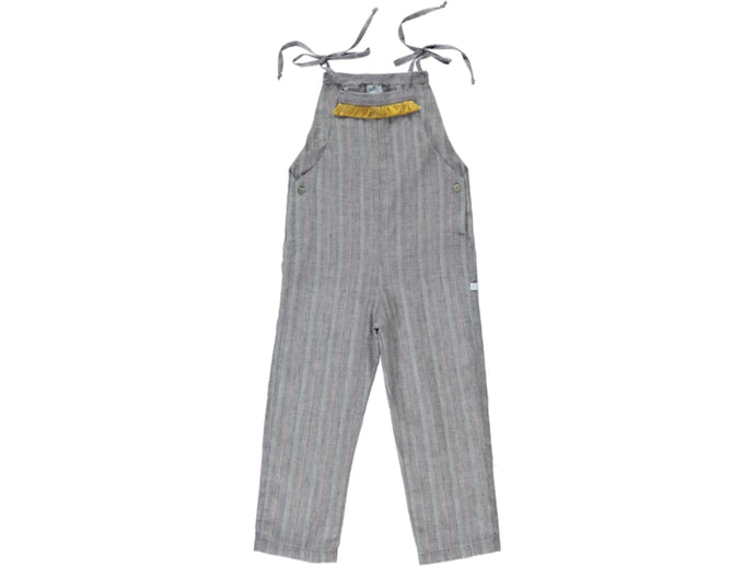 Boho Girl Stripes Overalls