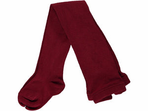 Newborn Bordeaux Tights