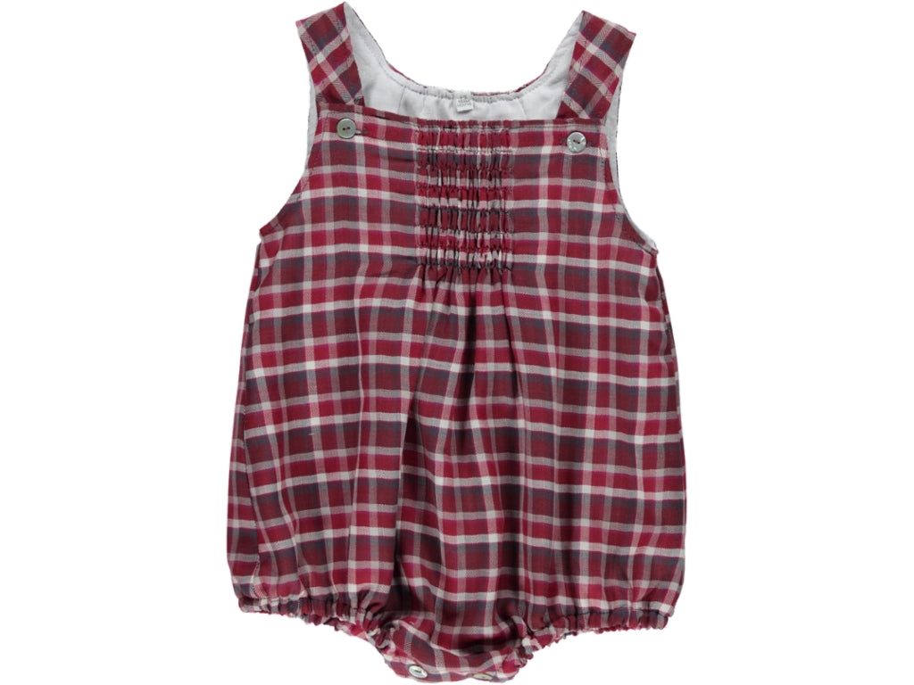 Chess Baby Bordeaux Romper
