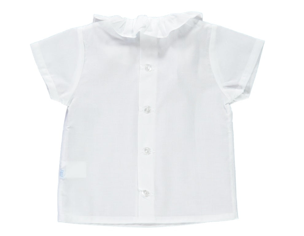 White Baby Girl Shirt