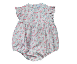 Liberty Baby Girl Romper